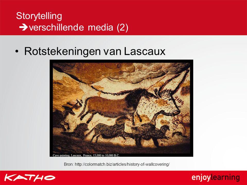 Rotstekeningen van Lascaux