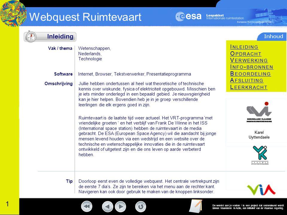 Inleiding Vak / thema. Wetenschappen, Nederlands, Technologie. Software. Internet, Browser, Tekstverwerker, Presentatieprogramma.