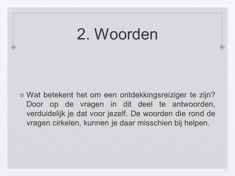 2. Woorden