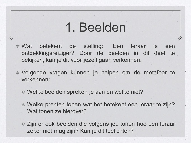 1. Beelden