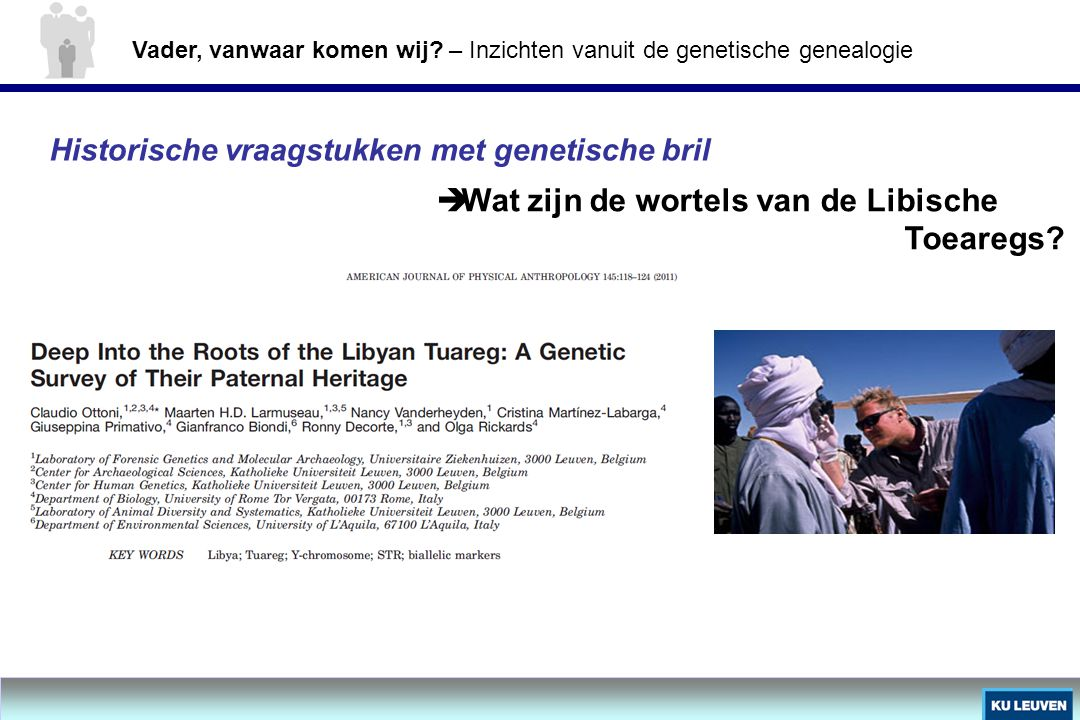 Wat zijn de wortels van de Libische Toearegs