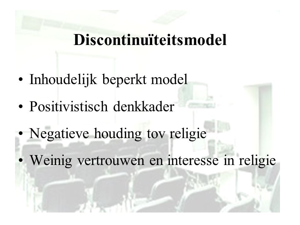 Discontinuïteitsmodel