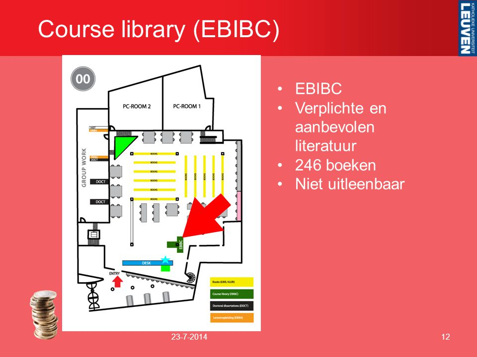 Course library (EBIBC)