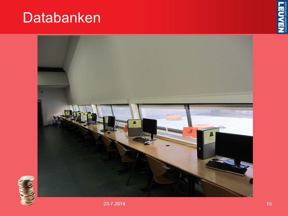 Databanken 4-4-2017