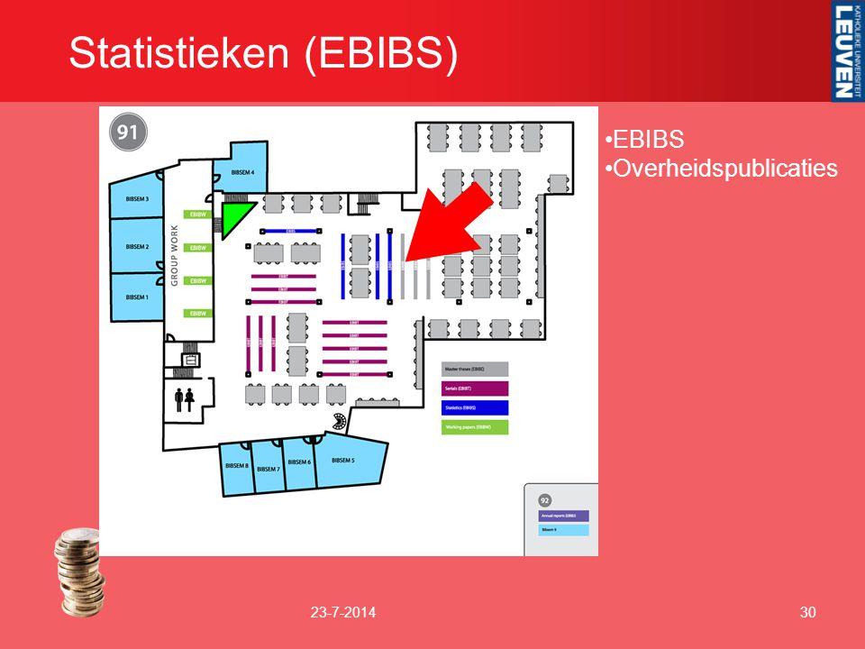 Statistieken (EBIBS) EBIBS Overheidspublicaties 4-4-2017