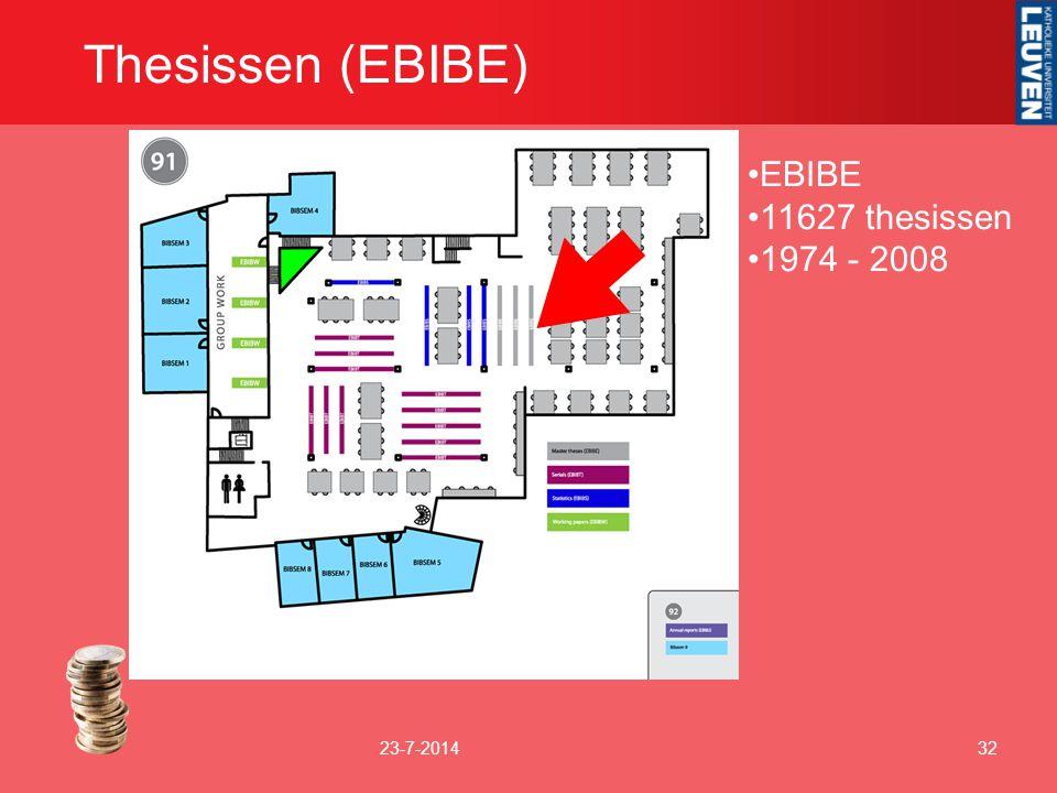 Thesissen (EBIBE) EBIBE 11627 thesissen 1974 - 2008 4-4-2017