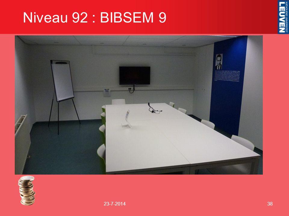 Niveau 92 : BIBSEM 9 4-4-2017