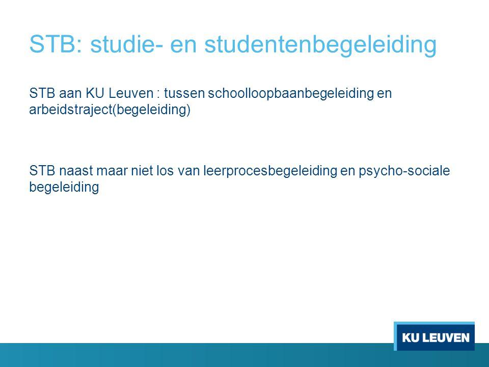 STB: studie- en studentenbegeleiding