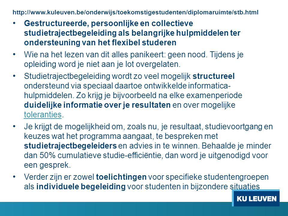 http://www.kuleuven.be/onderwijs/toekomstigestudenten/diplomaruimte/stb.html