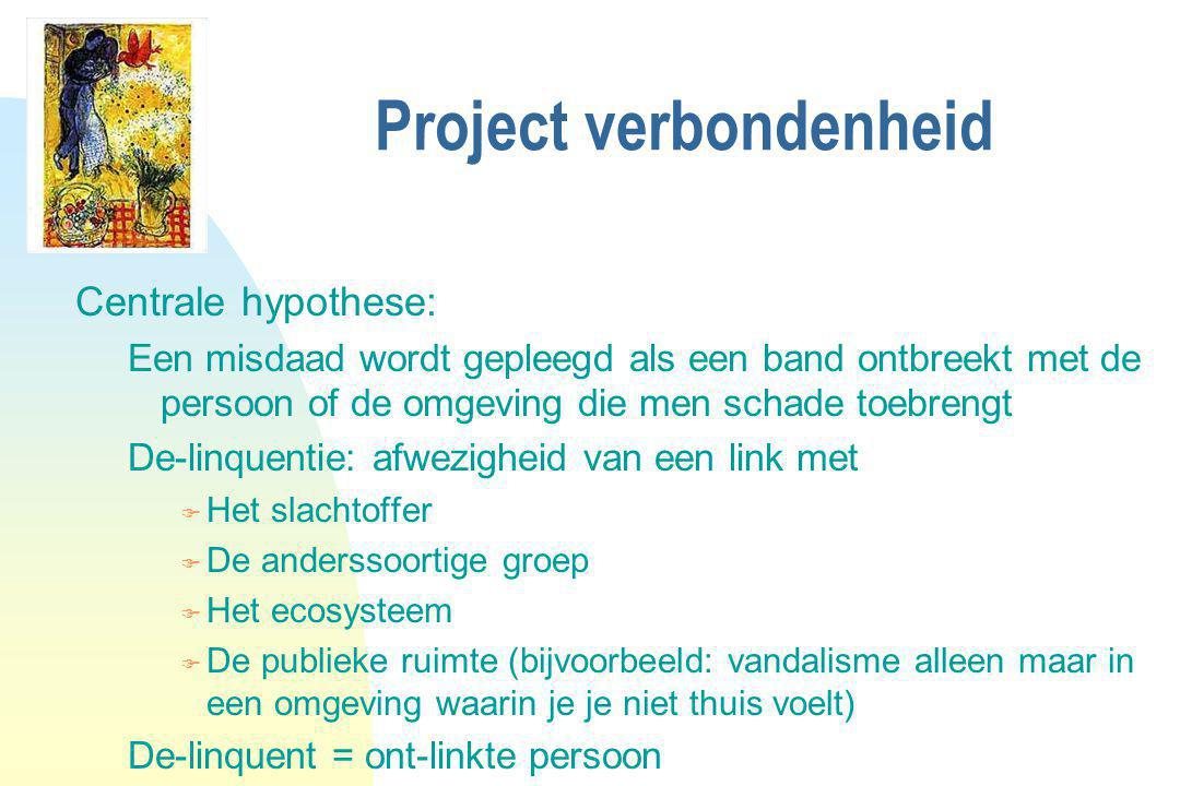 Project verbondenheid