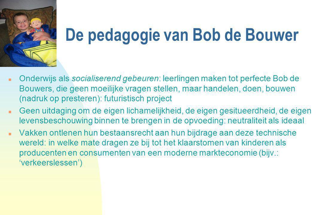 De pedagogie van Bob de Bouwer