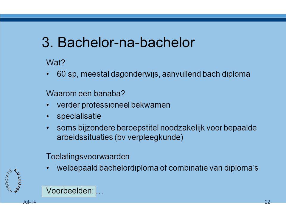 3. Bachelor-na-bachelor