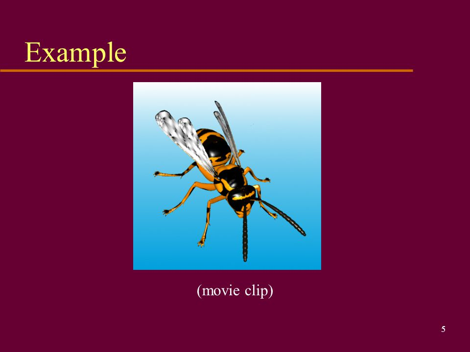 Example (movie clip)