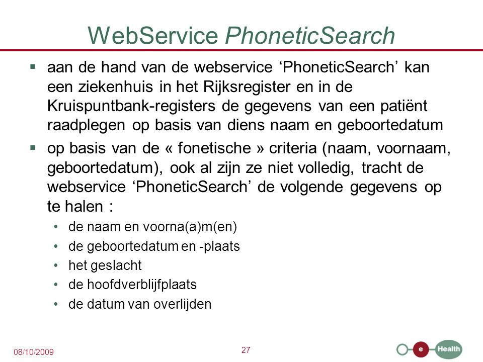 WebService PhoneticSearch