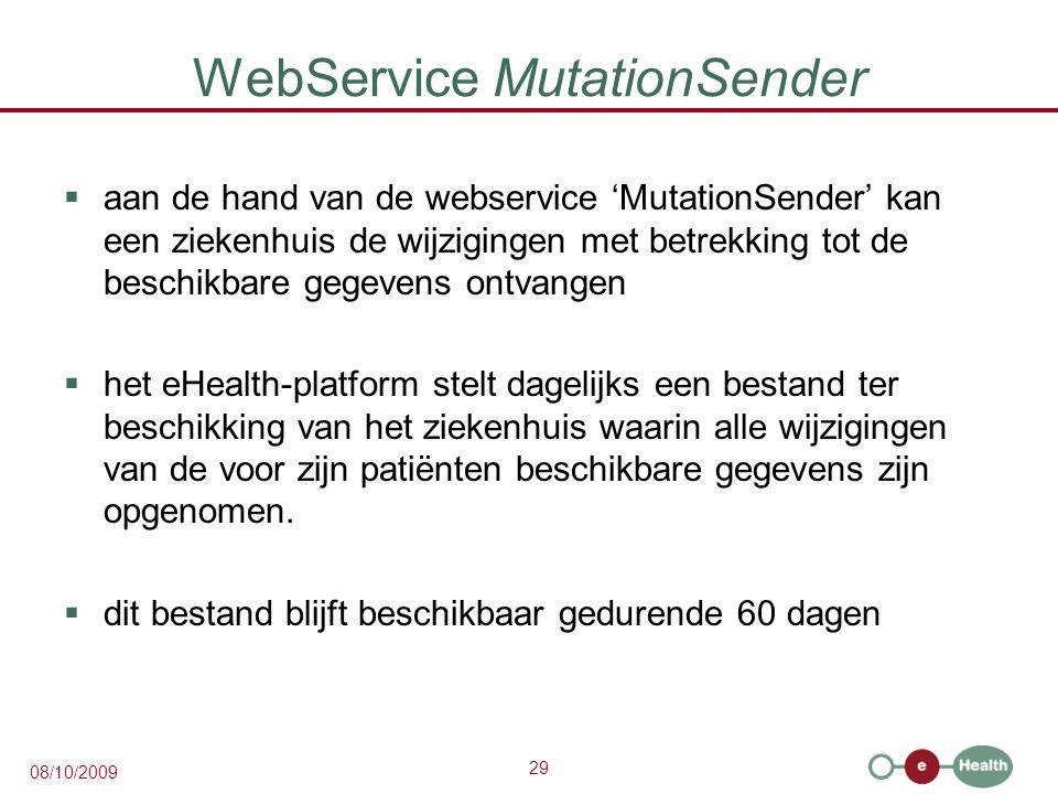 WebService MutationSender