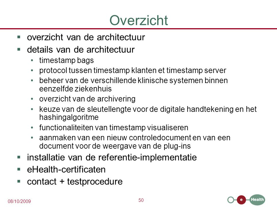 Overzicht overzicht van de architectuur details van de architectuur