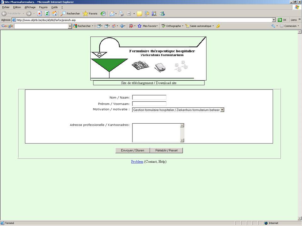 Op de homepagina van de downloadsite wordt u gevraagd om u te identificeren en het soort gebruik van de software te bepalen: