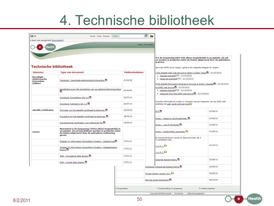 4. Technische bibliotheek