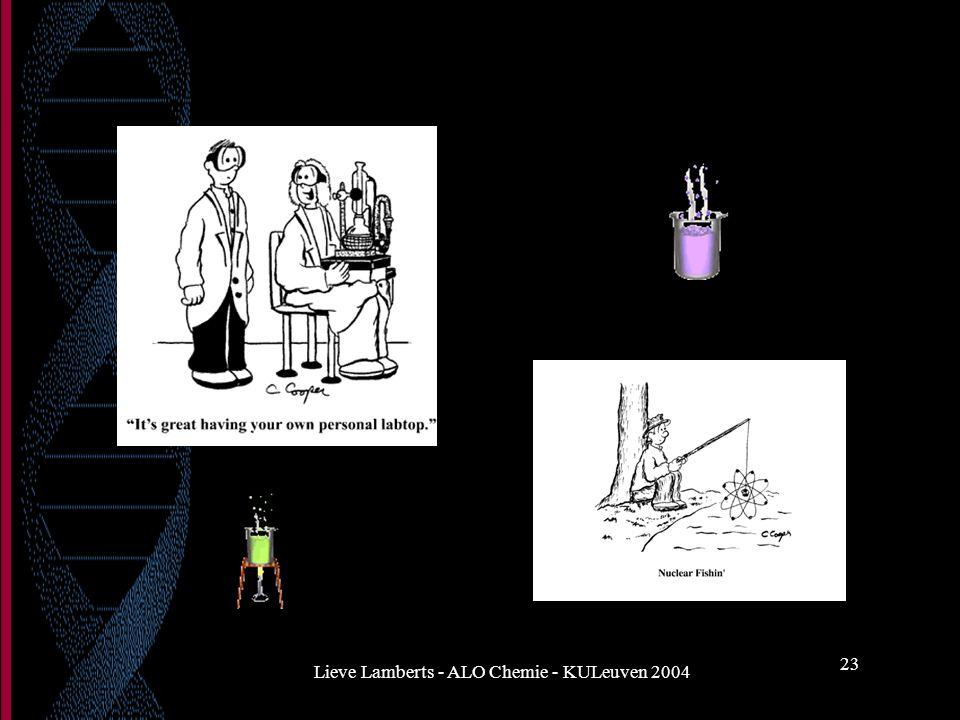 Lieve Lamberts - ALO Chemie - KULeuven 2004