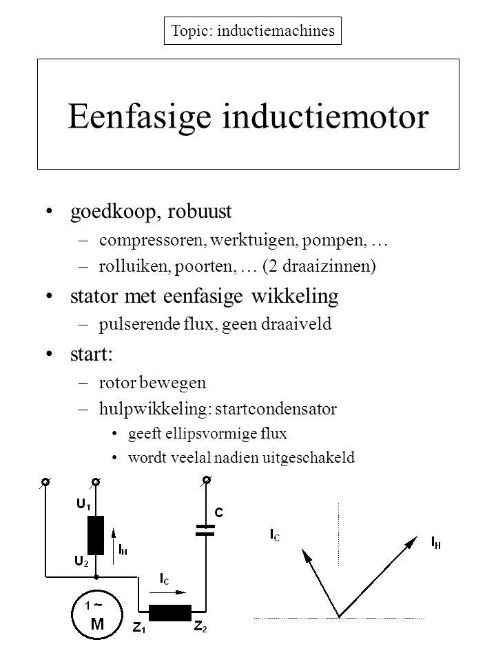 Eenfasige inductiemotor