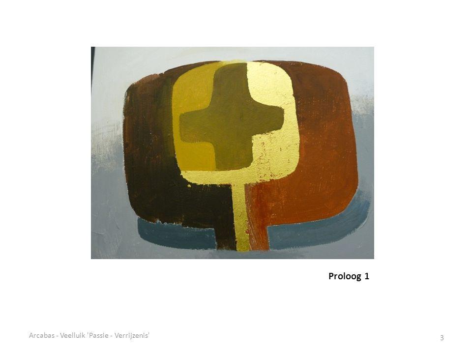 Proloog 1 Arcabas - Veelluik Passie - Verrijzenis