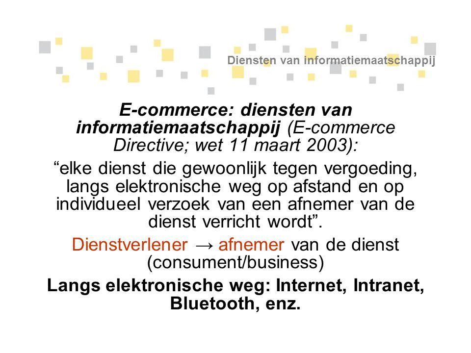 Diensten van informatiemaatschappij