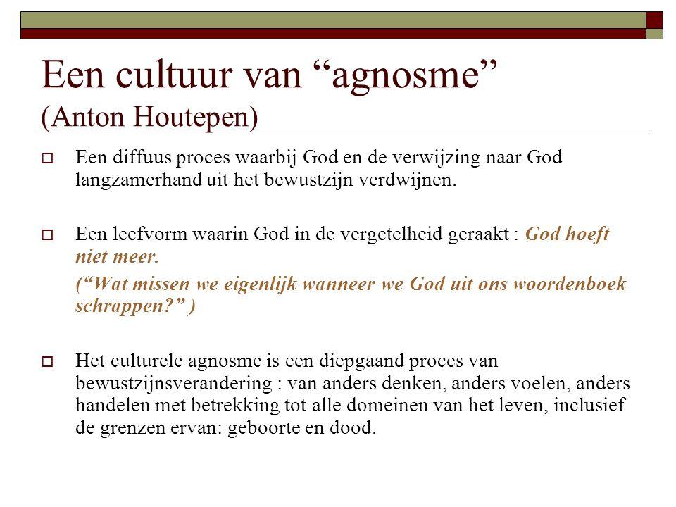 Een cultuur van agnosme (Anton Houtepen)