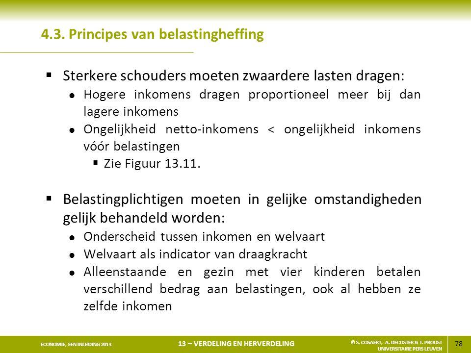 4.3. Principes van belastingheffing