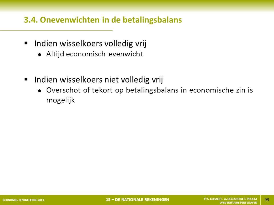 3.4. Onevenwichten in de betalingsbalans
