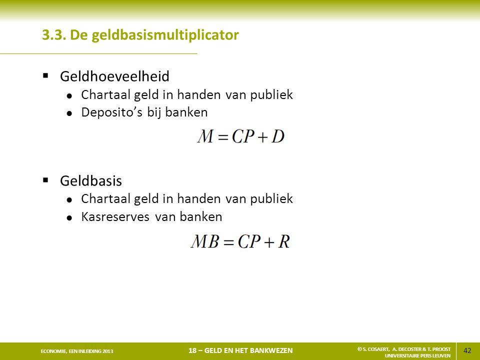 3.3. De geldbasismultiplicator