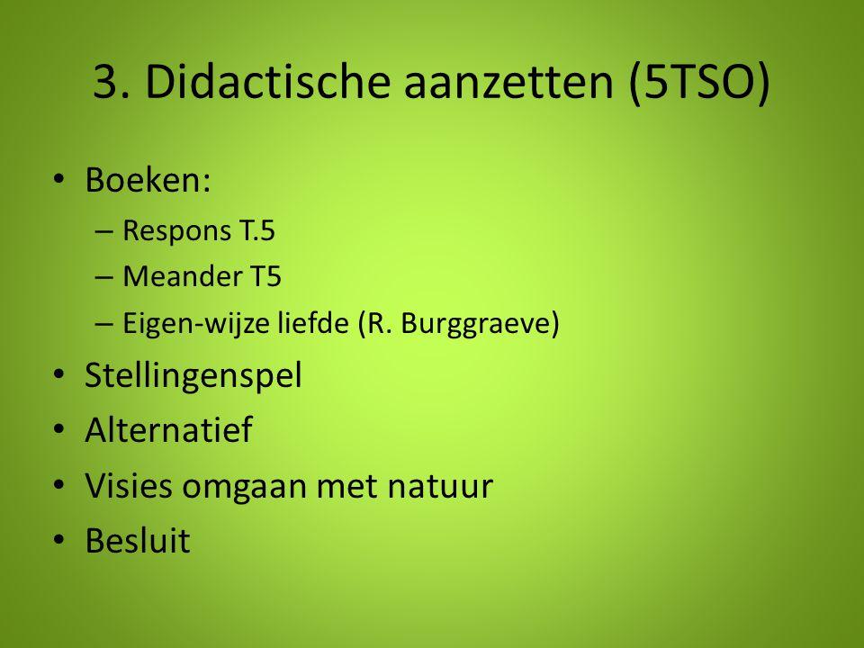 3. Didactische aanzetten (5TSO)