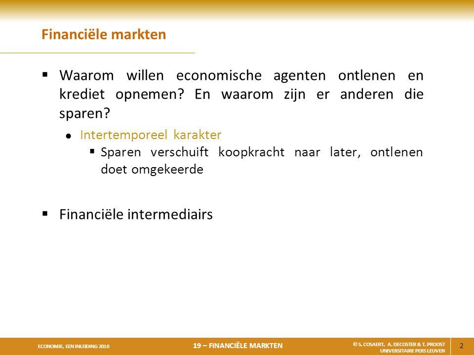 Financiële intermediairs