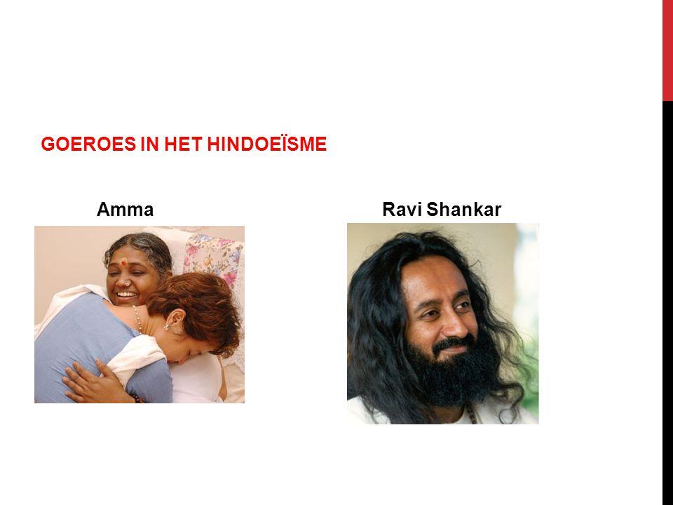 GOEROES IN HET HINDOEÏSME Amma Ravi Shankar