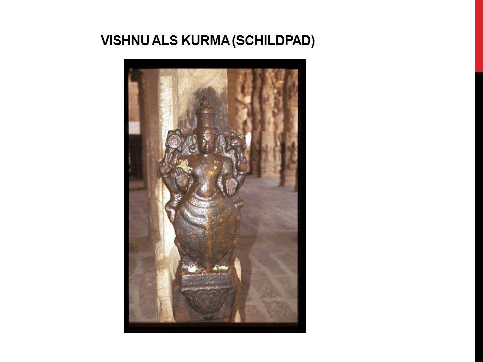 Vishnu aLs KURMA (SCHILDPAD)