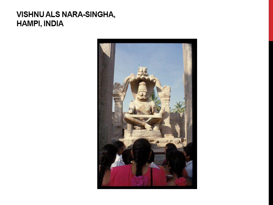 Vishnu aLs Nara-Singha, Hampi, India