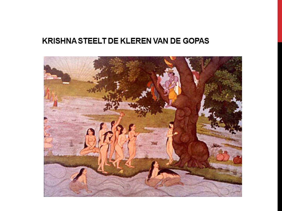KRISHNA STEELT DE KLEREN VAN DE GOPAS