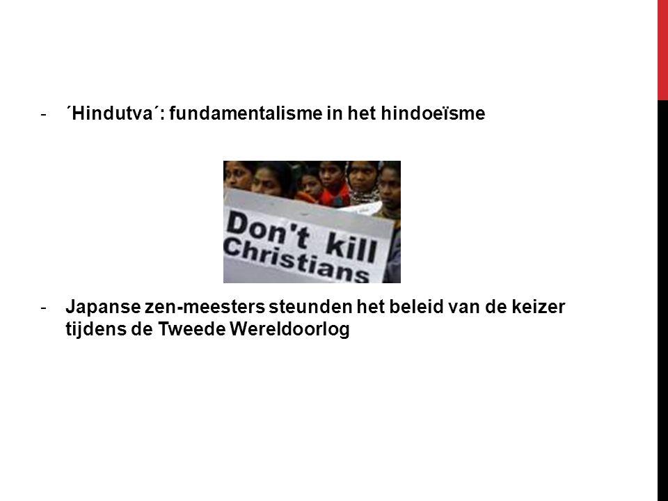 ´Hindutva´: fundamentalisme in het hindoeïsme
