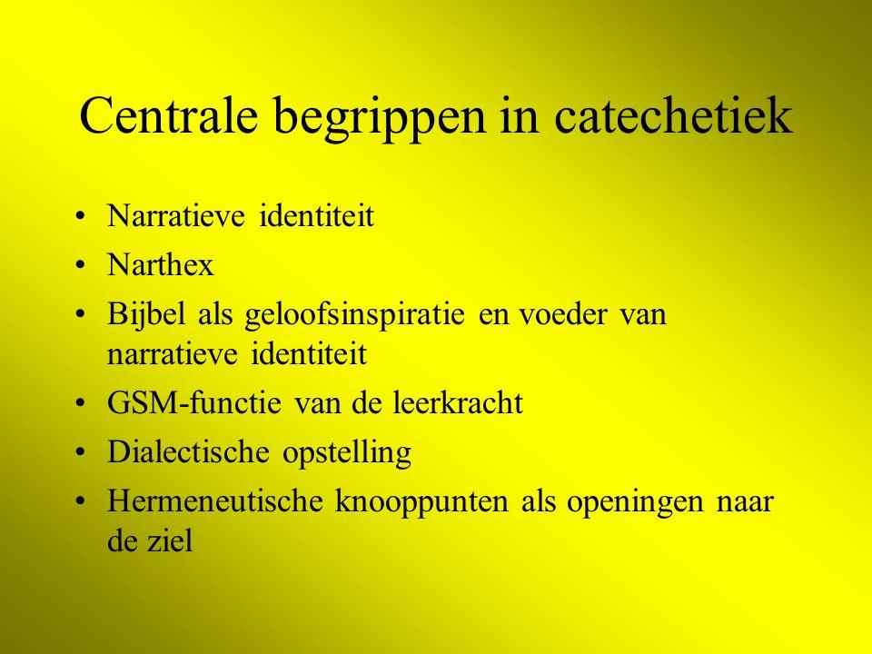 Centrale begrippen in catechetiek