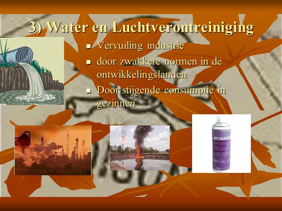 3) Water en Luchtverontreiniging
