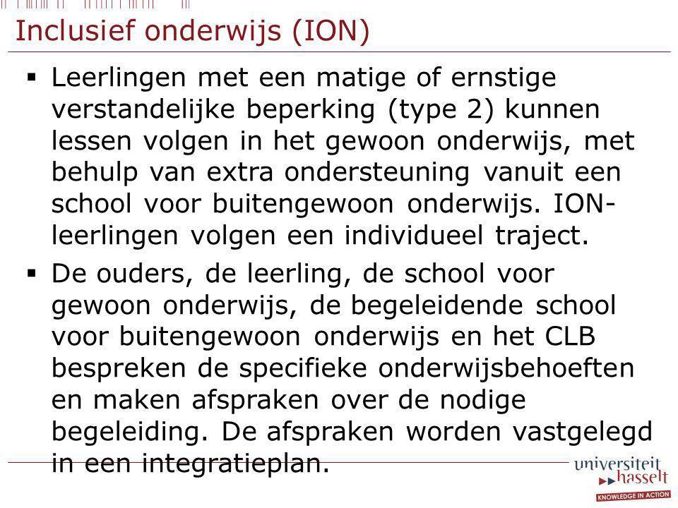 Inclusief onderwijs (ION)