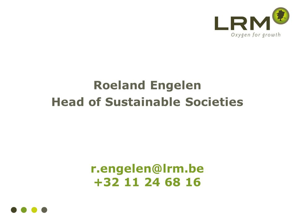 Head of Sustainable Societies