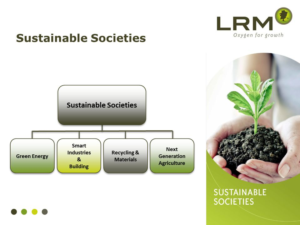 Sustainable Societies