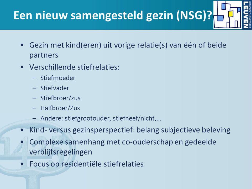 Een nieuw samengesteld gezin (NSG)