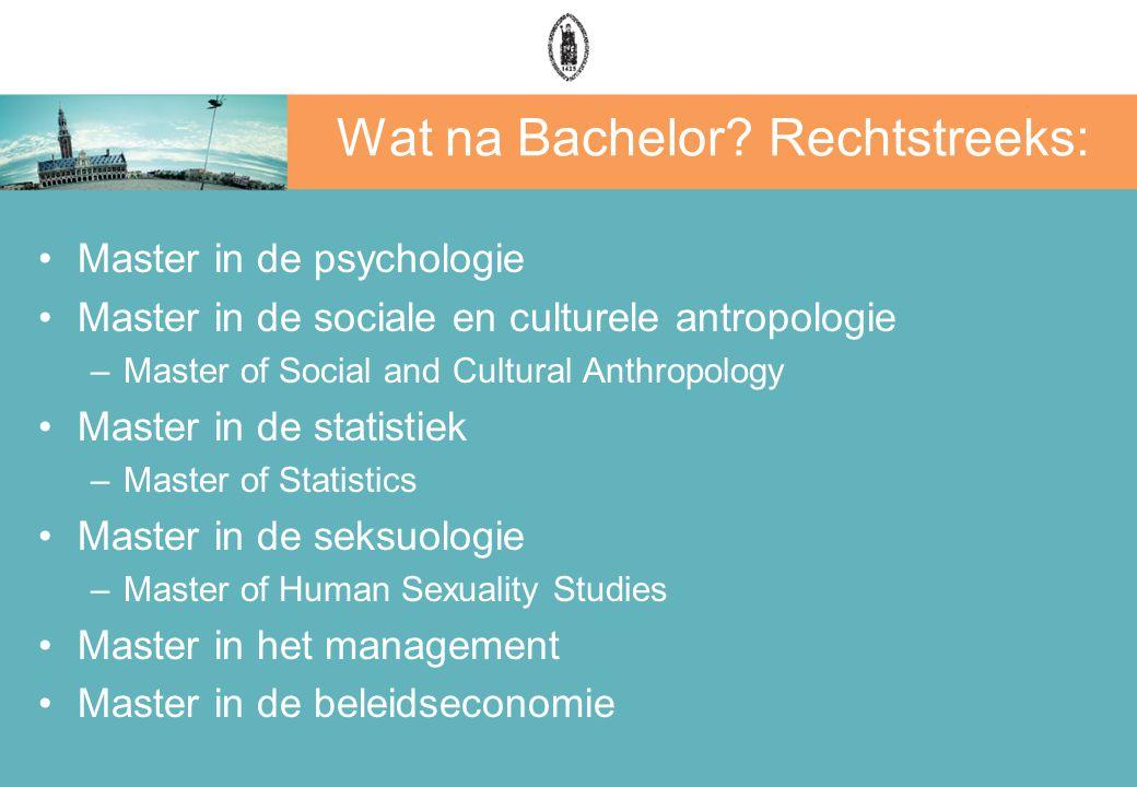 Wat na Bachelor Rechtstreeks: