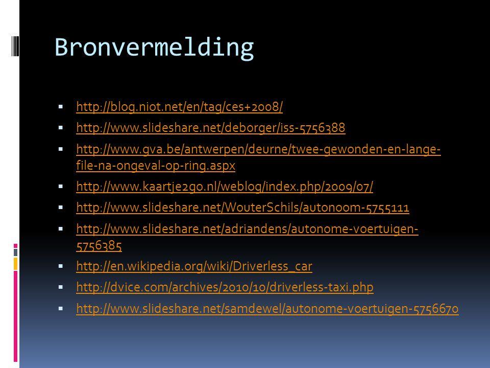 Bronvermelding http://blog.niot.net/en/tag/ces+2008/