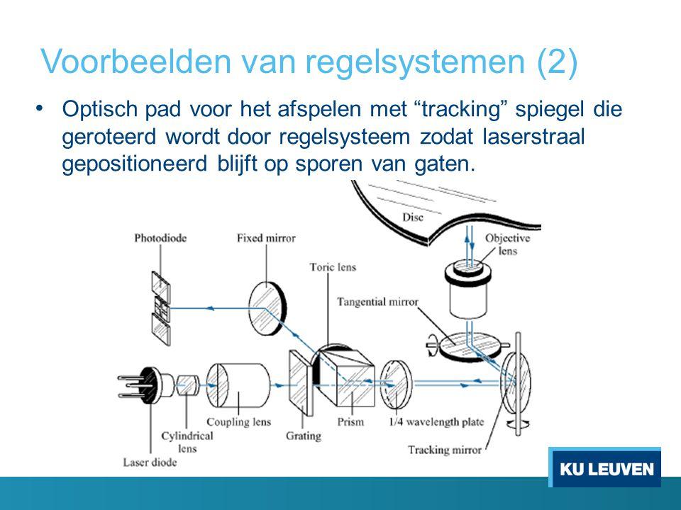 Voorbeelden van regelsystemen (2)