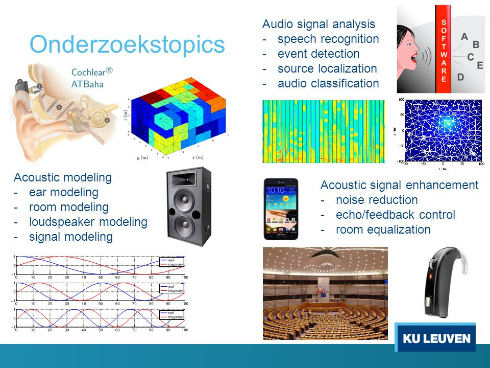 Onderzoekstopics Audio signal analysis speech recognition