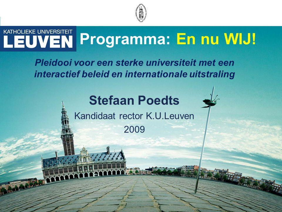 Kandidaat rector K.U.Leuven