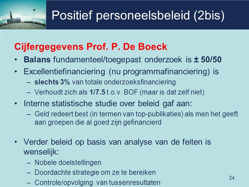 Positief personeelsbeleid (2bis)