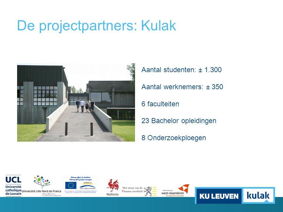 De projectpartners: Kulak